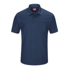Short Sleeve Performance Knit Pocket Polo