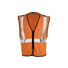Class 2 Zipper Mesh Economy Vest
