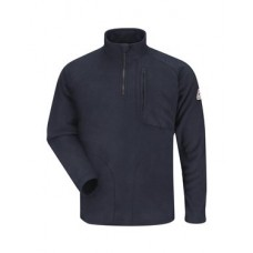 ¼ Zip-Front Fleece Sweatshirt