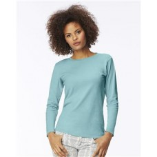 Women's Garment Dyed Ringspun Long Sleeve T-Shirt